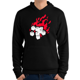 Fireball Unisex Pullover Hoodie (Black) for Dungeons and Dragons players