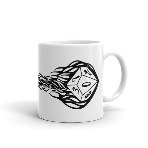 Eldritch Blast D&D Player Coffee Mug