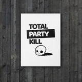 Total Party Kill (TPK) Canvas Wall Art