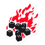 Fireball Sticker for Dungeons and Dragons players