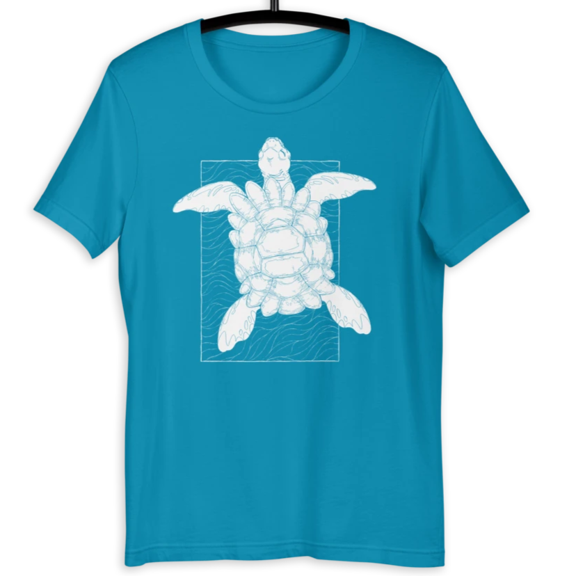 Astral Turtle T-Shirt for RPG Tabletop player