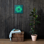 Eldritch Blast Canvas Wall Art