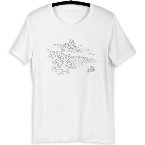 Castle Town Premium T-Shirt (White)
