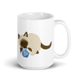 Ragdoll Cat D&D Player Coffee Mug