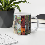 Map Collage Coffee Mug