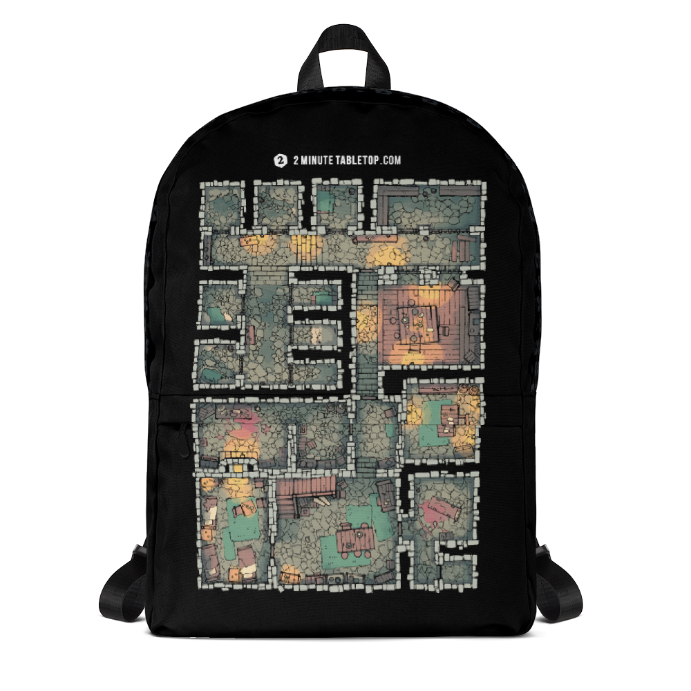 The Dungeon Backpack for D&D Fans