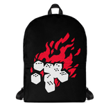 Fireball Backpack for Dungeons and Dragons players or fans