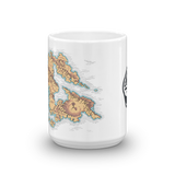 Provinces of Wei Coffee Mug