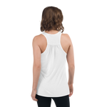 Yeti Lair Women's Flowy Racerback Tank Top (White or Black)