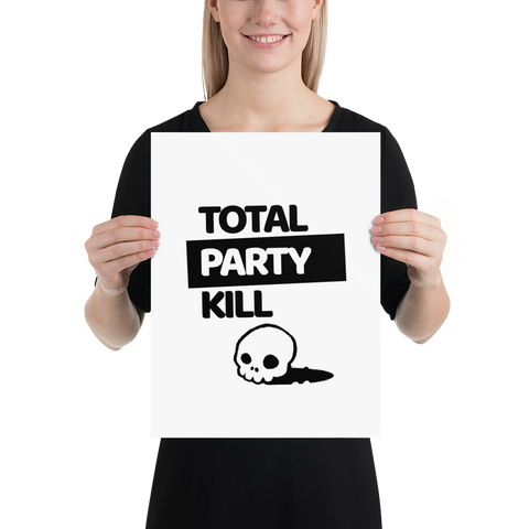 Total Party Kill (TPK) Poster