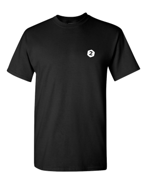 2-Minute Tabletop T-Shirt (Black 02)