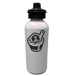 2-Minute Tabletop Water Bottle (Black Logo)