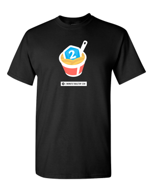2-Minute Tabletop T-Shirt (Black)