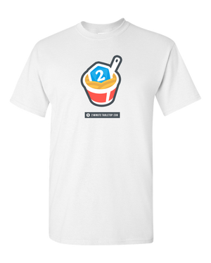 2-Minute Tabletop T-Shirt (White)