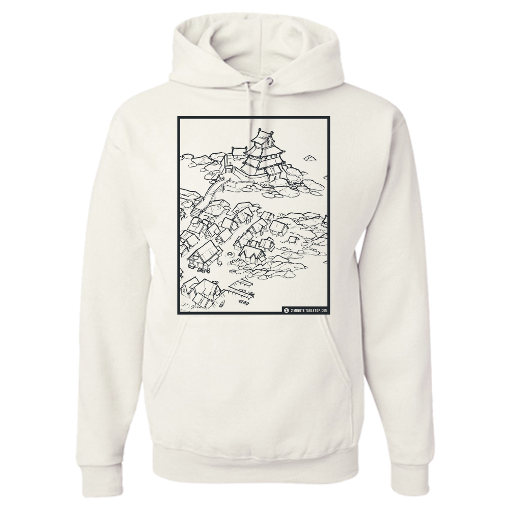 Castle Town Hoodie (White)