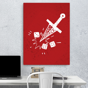 Sneak Attack Canvas Wall Art