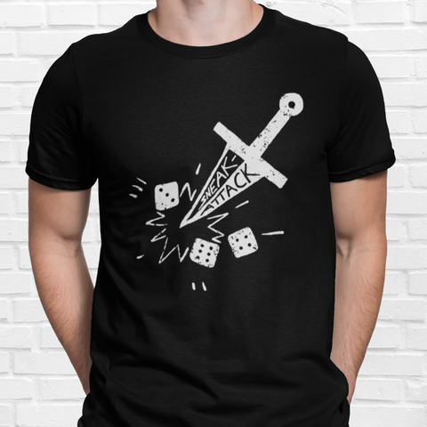 Sneak Attack T-Shirt: Dungeons and Dragons Gift