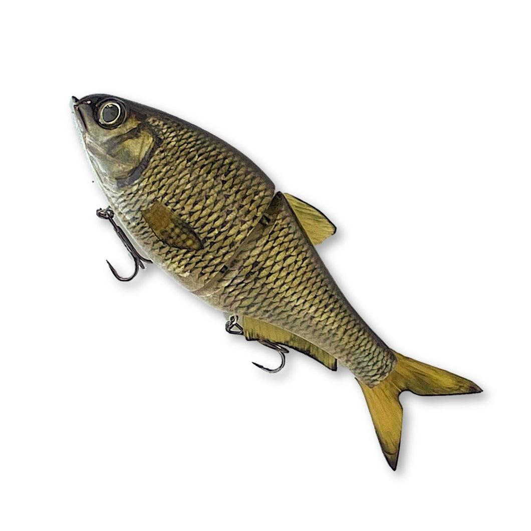 Swimbait Underground X 86 Baits Glide - Golden Shiner - Swimbait Underground