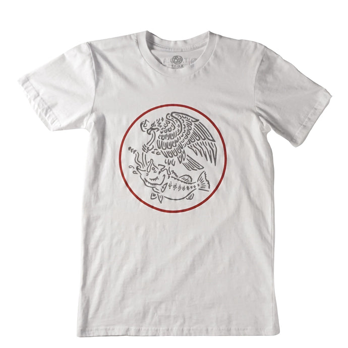 Swimbait Underground X Trophy Coat of Arms Tee - White