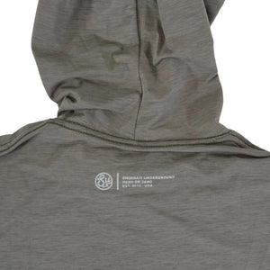 Swimbait Underground EQ Tech Hoodie - Olive Heather
