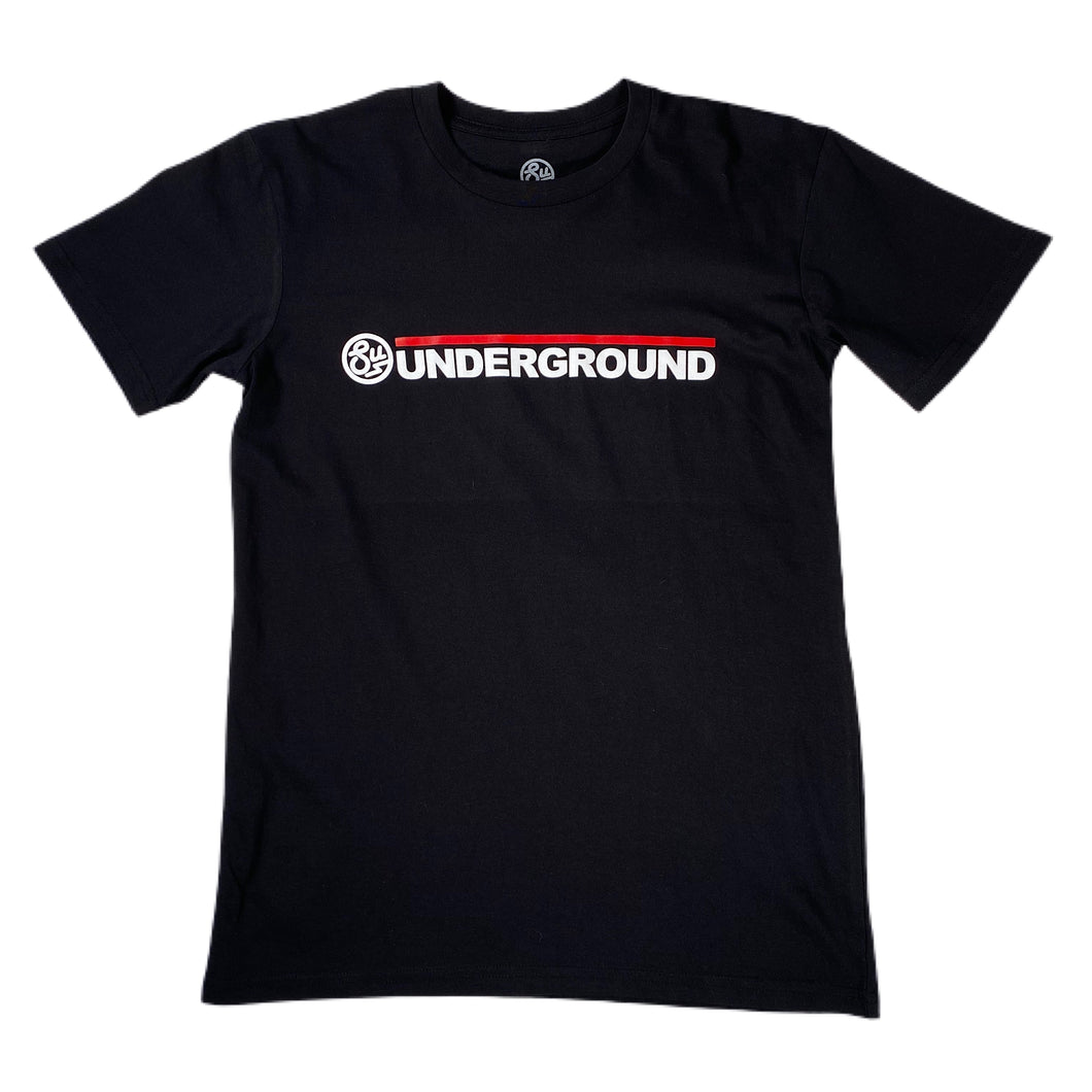 Swimbait Underground Wordmark Logo Tee - Black