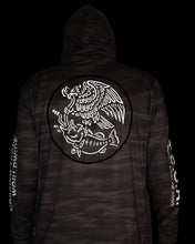 Load image into Gallery viewer, Swimbait Underground X Trophy Coat of Arms EQ Tech Hoodie - TCOA Camo