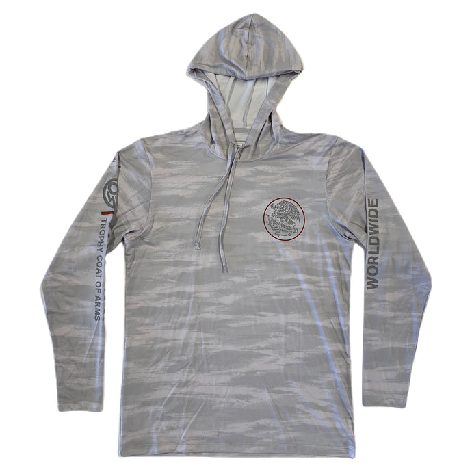 Swimbait Underground X Trophy Coat of Arms EQ Tech Hoodie - TCOA Camo