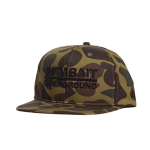 Swimbait Underground Logo Lock Up Hat - Duck Camo