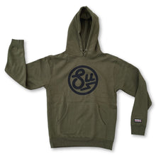 Load image into Gallery viewer, Swimbait Underground Circle SU Hooded Sweatshirt - Olive - Swimbait Underground