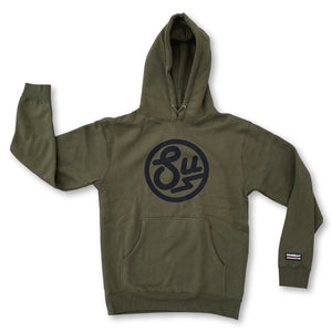 Swimbait Underground Circle SU Hooded Sweatshirt - Olive - Swimbait Underground