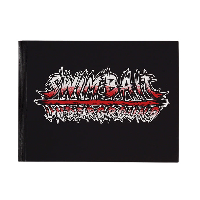 Swimbait Underground X David Paul Seymour Metal Logo Canvas Print