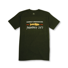Load image into Gallery viewer, Swimbait Underground X Swimbait 24/7 Short Sleeve Shirt - Olive Heather