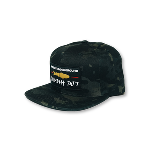 Swimbait Underground X Swimbait 24/7 Snapback - Black Multicam