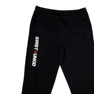 Swimbait Underground Initials Sweatpants - Black