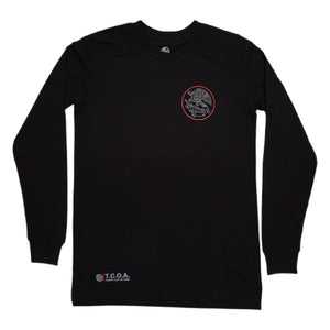 Swimbait Underground X Trophy Coat of Arms Long Sleeve - Black