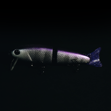 Load image into Gallery viewer, Swimbait Underground X Toxic Baits Delta Grape Wake n Crank - Swimbait Underground