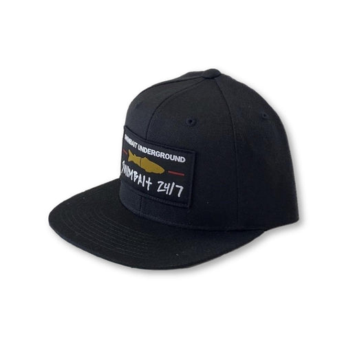 Swimbait Underground X Swimbait 24/7 Snapback - Black