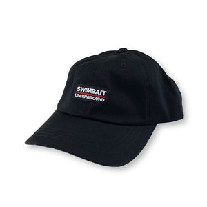 Swimbait Underground Dad Hat - Black