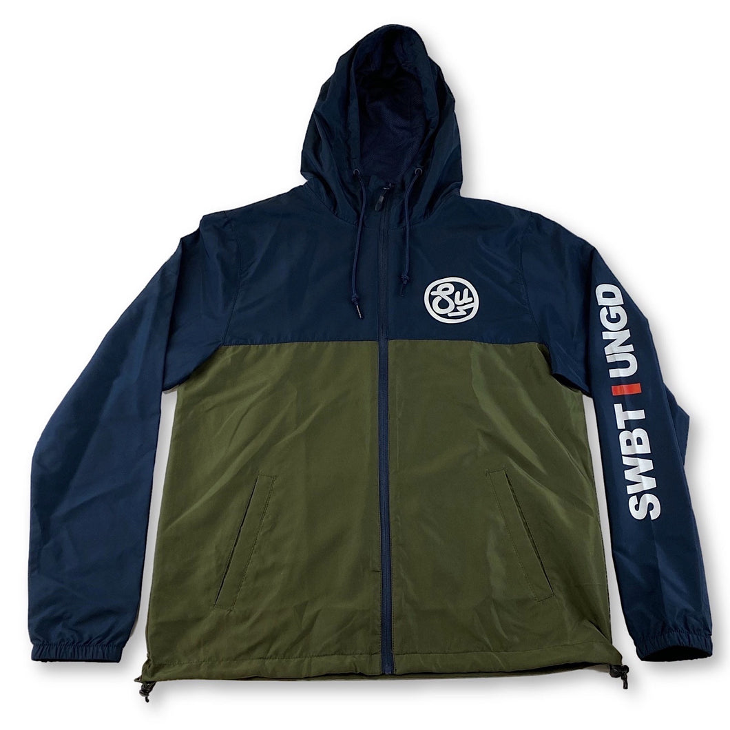 Swimbait Underground Circle SU Windbreaker - Navy/Olive