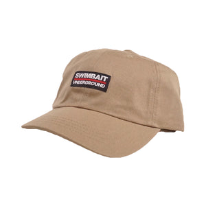 Swimbait Underground Dad Hat - Khaki