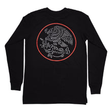 Load image into Gallery viewer, Swimbait Underground X Trophy Coat of Arms Long Sleeve - Black