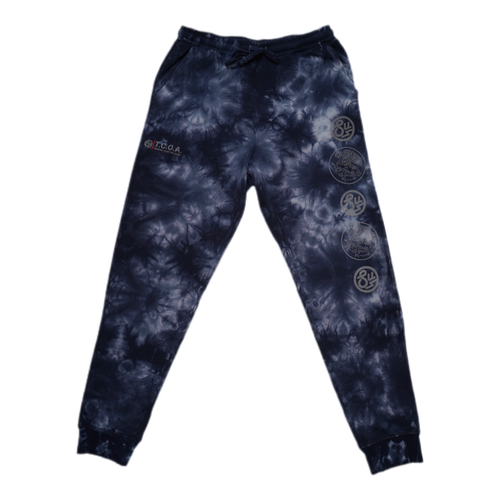 Swimbait Underground X Trophy Coat of Arms Sweat Pant - Blue Tie Dye