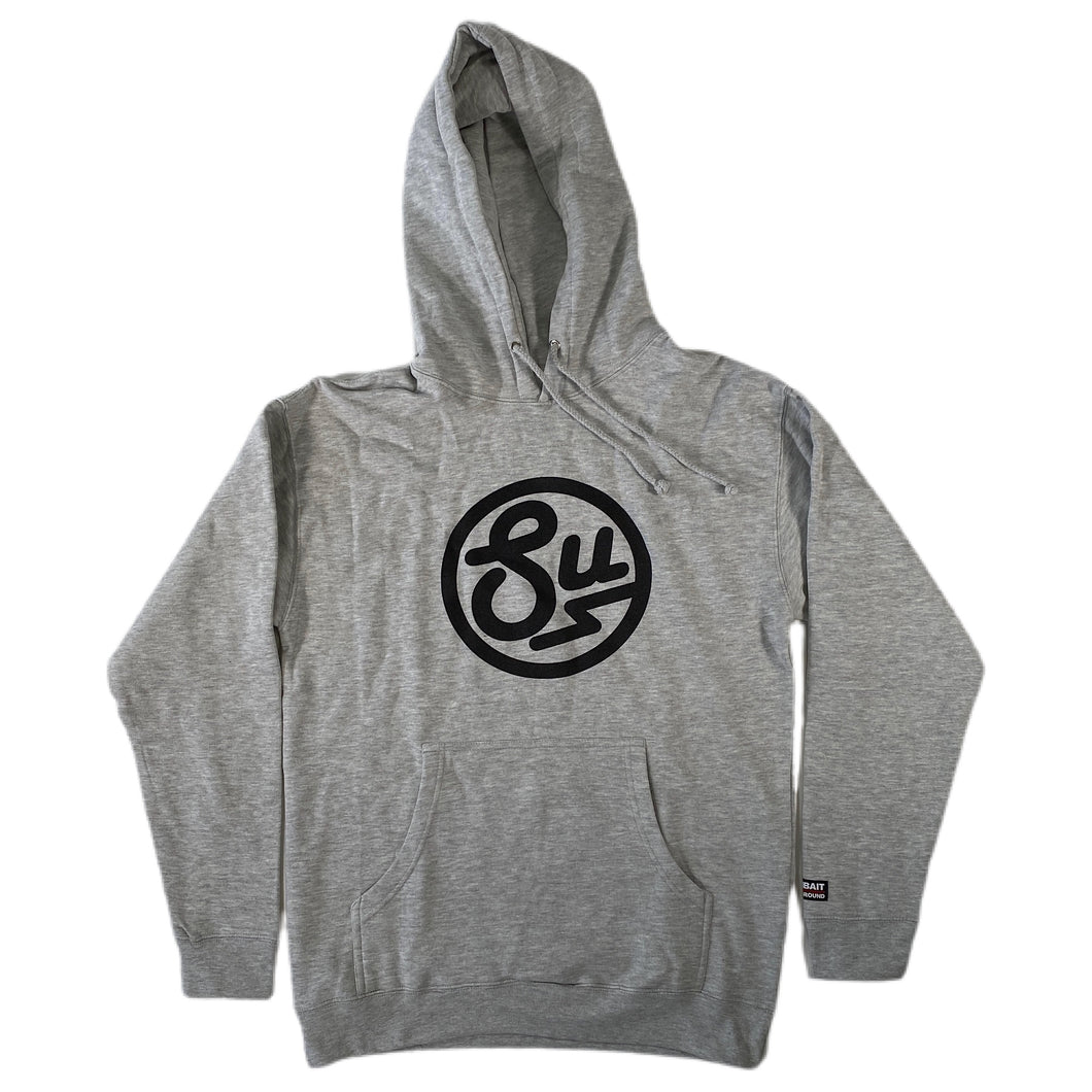 Swimbait Underground Circle SU Hoodie - Gray Heather