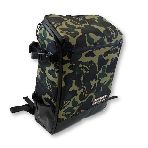 Swimbait Underground X SuperBait Turtle Bag - Camo