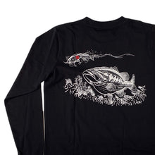 Load image into Gallery viewer, Swimbait Underground X Tattuna Long Sleeve Shirt - Black