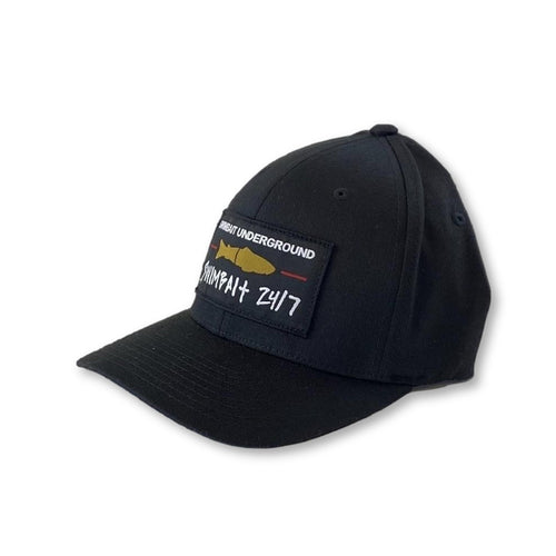 Swimbait Underground X Swimbait 24/7 Flexfit - Black