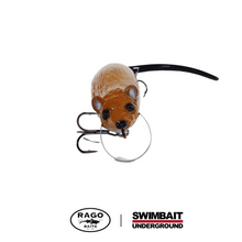 Load image into Gallery viewer, Swimbait Underground x Rago Baits Roach.2 - Brown