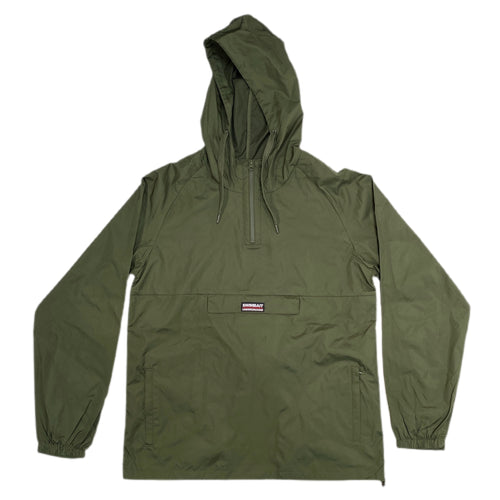 Swimbait Underground Pullover Windbreaker - Army Green