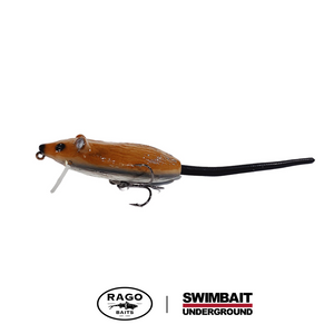 Swimbait Underground x Rago Baits Roach.1 - Brown