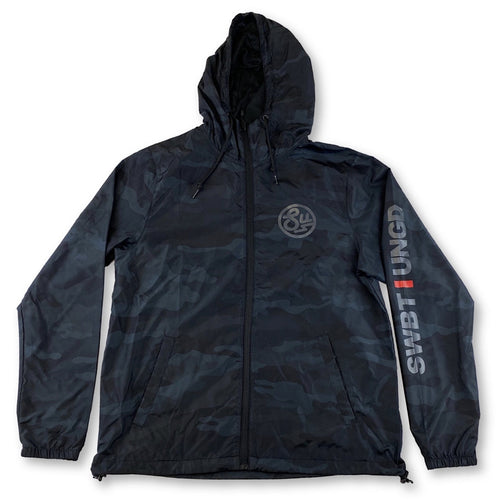 Swimbait Underground Circle SU Windbreaker - Black Multicam